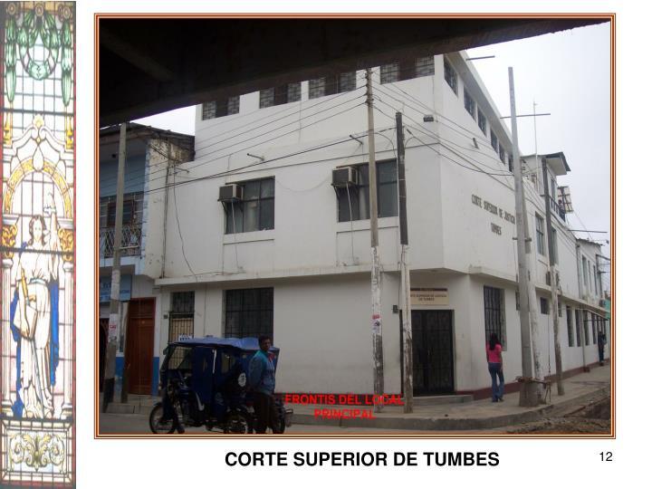 CORTE SUPERIOR DE TUMBES
