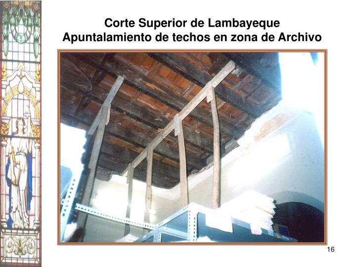 Corte Superior de Lambayeque