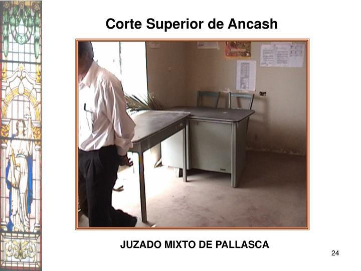 Corte Superior de Ancash