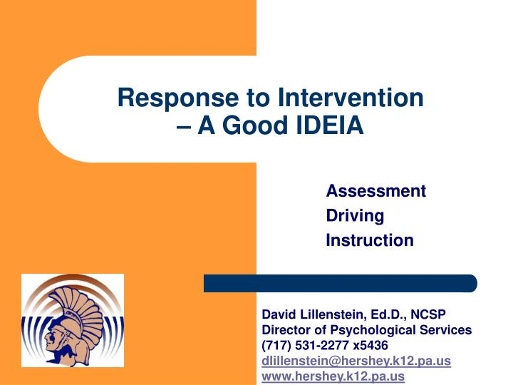 response to intervention essays Response to intervention from wikipedia, the free encyclopedia jump to navigation, search the neutrality of this article is disputed unsourced material may be challenged and removed (june 2007) | in education, response to intervention (commonly abbreviated rti or rti) is a method of.