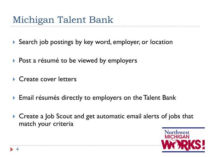 Michigan Talent Bank