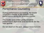 professional development g 7 enlisted training11