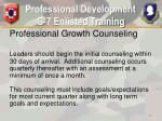 professional development g 7 enlisted training12
