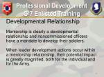 professional development g 7 enlisted training15