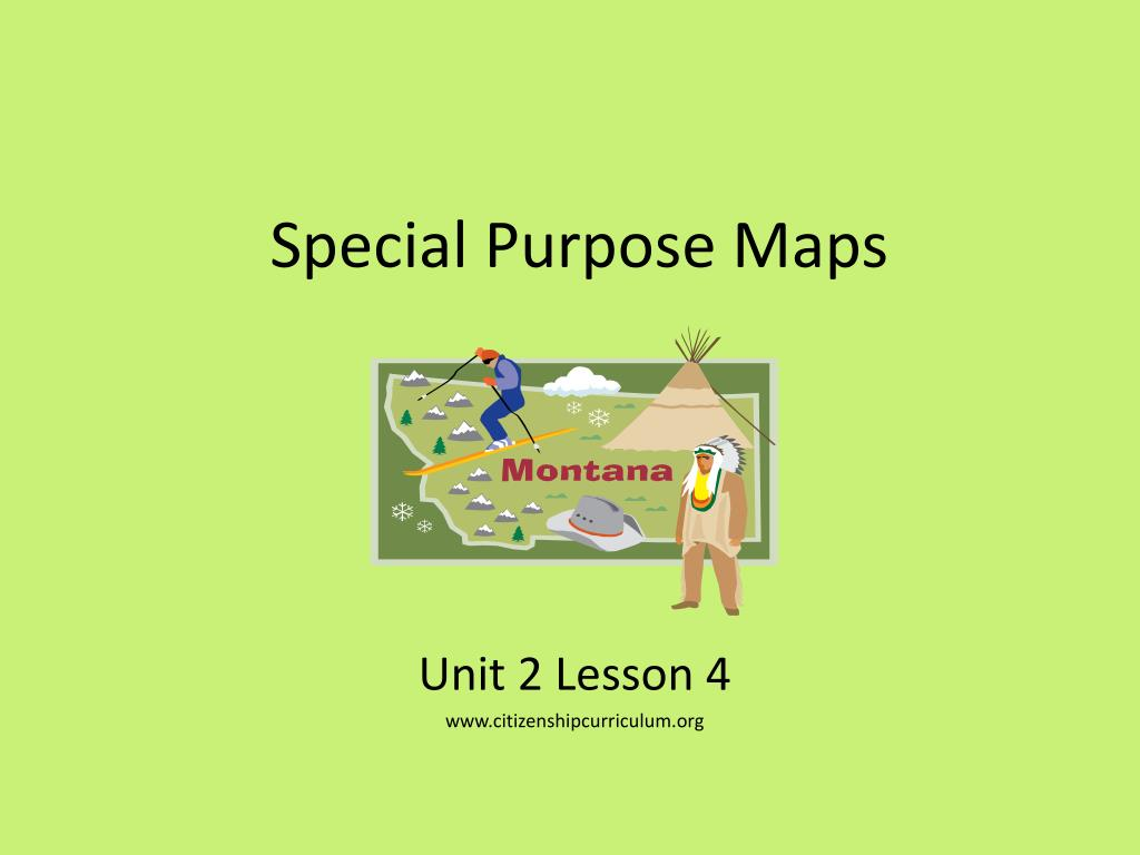 PPT - Special Purpose Maps PowerPoint Presentation - ID:5946783