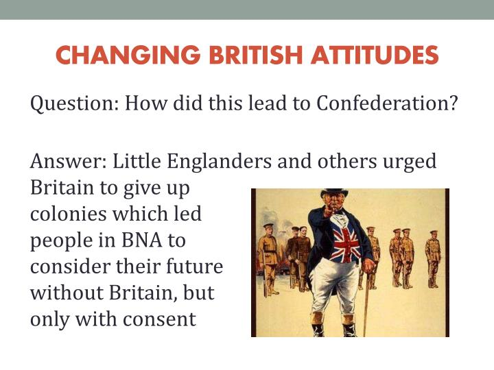 CHANGING BRITISH ATTITUDES