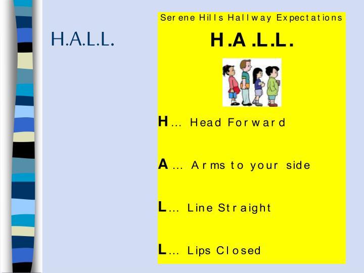 H.A.L.L