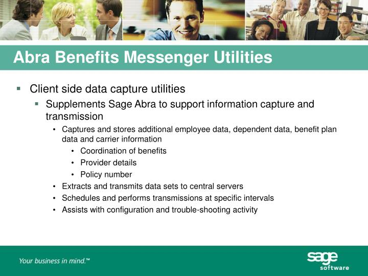 Abra Benefits Messenger Utilities