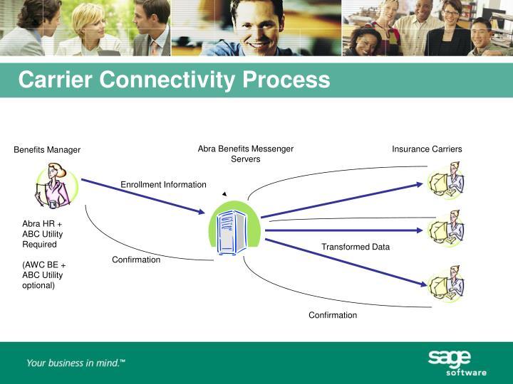 Carrier Connectivity Process