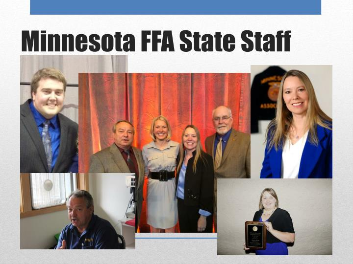Minnesota ffa state staff