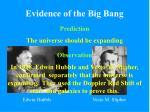 evidence of the big bang5