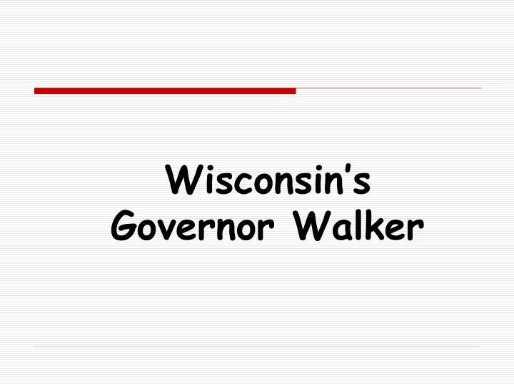 Wisconsin's