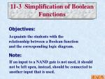 11 3 simplification of boolean functions
