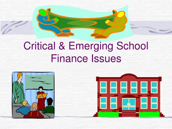 chapter 13 critical emerging school finance issues n.