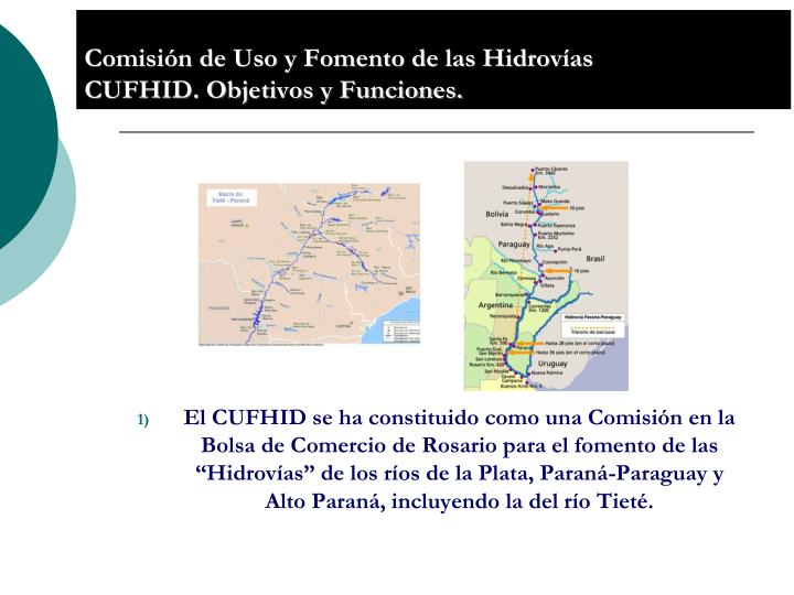 Comisión de Uso y Fomento de las Hidrovías