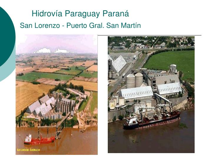 Hidrovía Paraguay Paraná