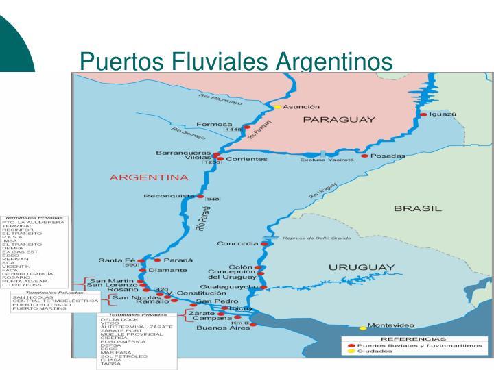 Puertos Fluviales Argentinos