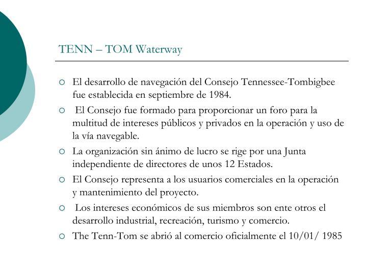 TENN – TOM Waterway