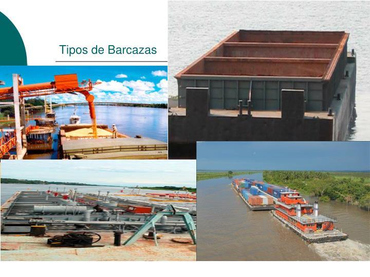 Tipos de Barcazas