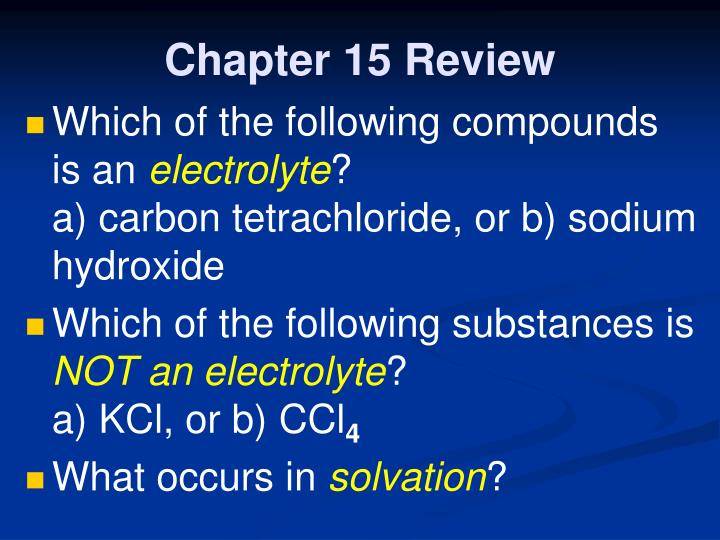 Chapter 15 review1