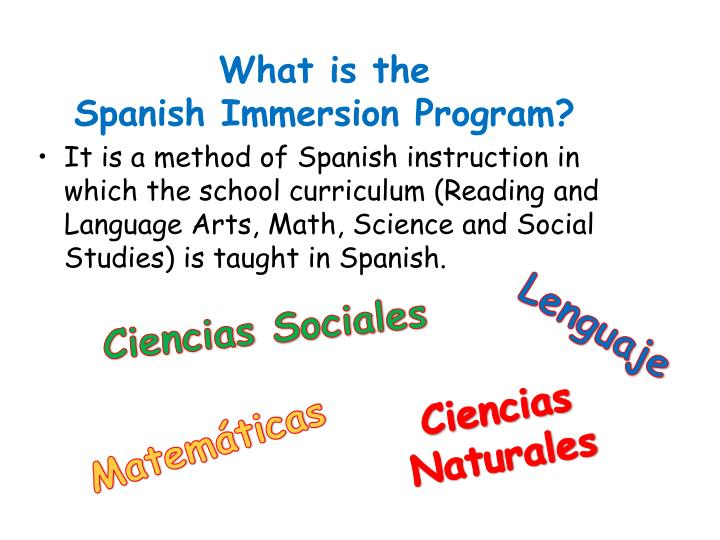 Ppt Humble Isd Spanish Immersion Program 2013 2014 Powerpoint