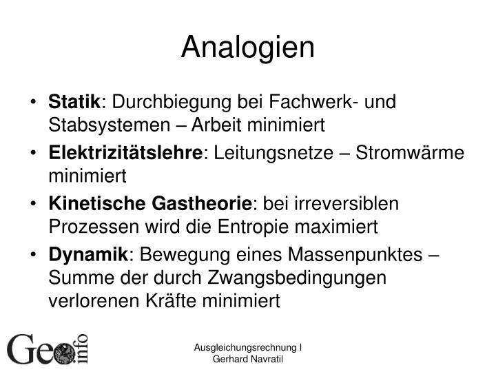 Analogien