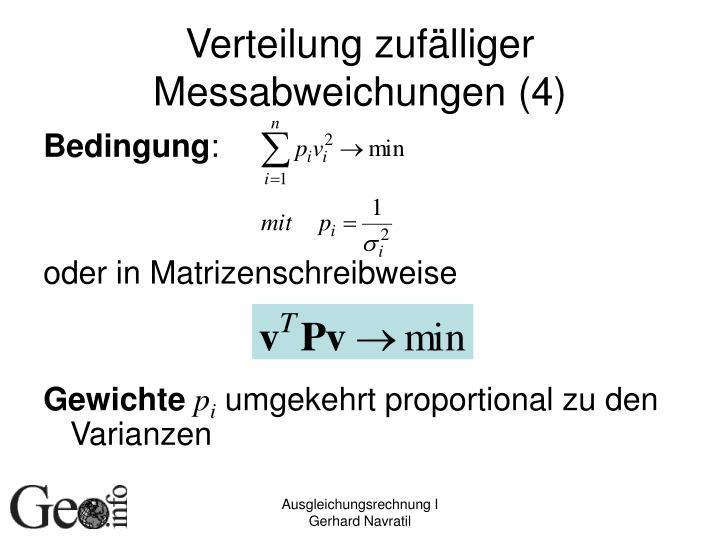 Verteilung zufälliger Messabweichungen (4)