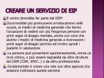 creare un servizio di eip1