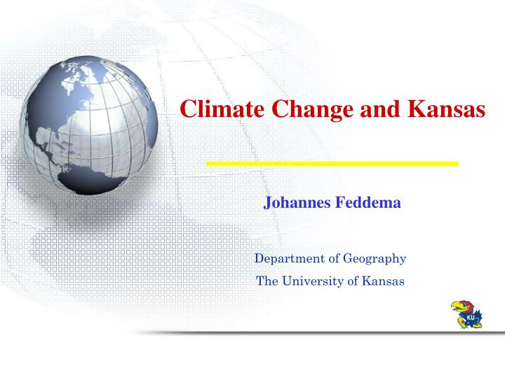 climate change and kansas n.