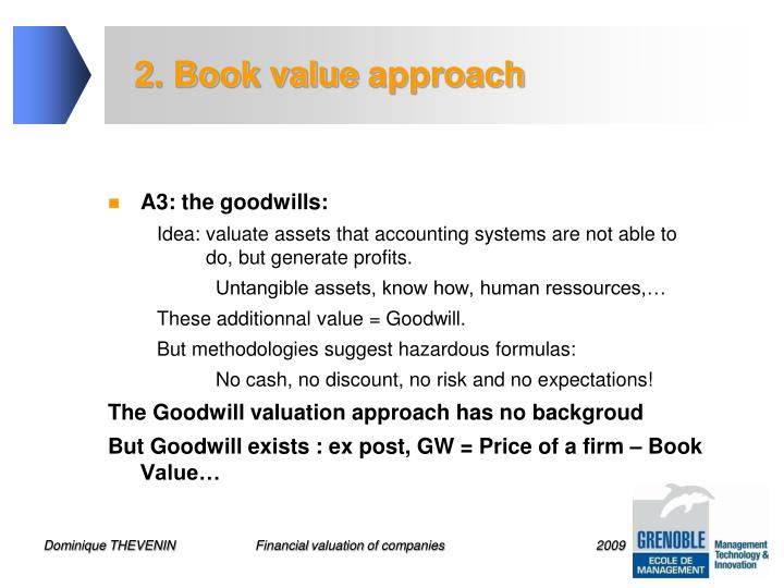 2. Book value