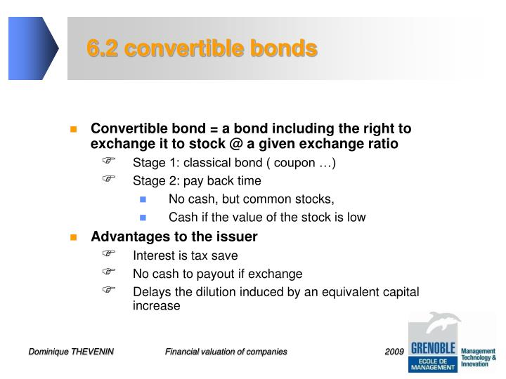 6.2 convertible bonds