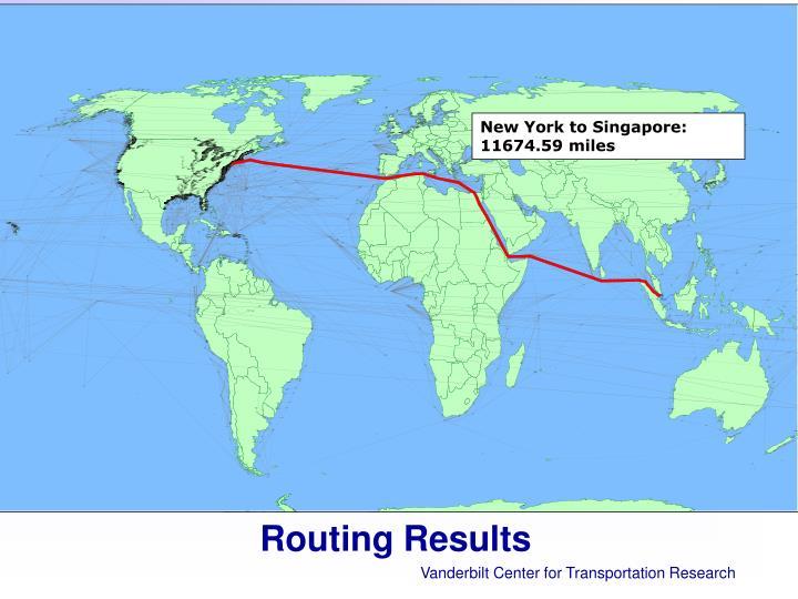 New York to Singapore: 11674.59 miles