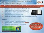 specjalna promocja dla uczestnik w mts2005 technet plus 50 taniej