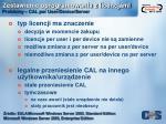 zestawienie oprogramowania z licencjami problemy cal per user device server1