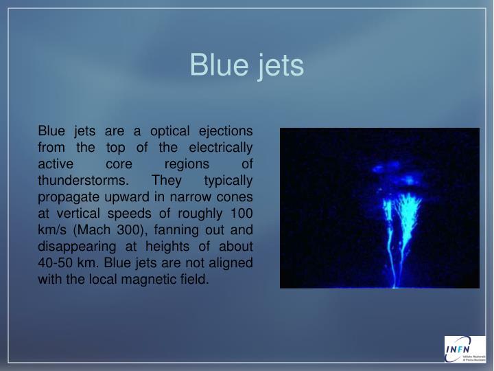 Blue jets