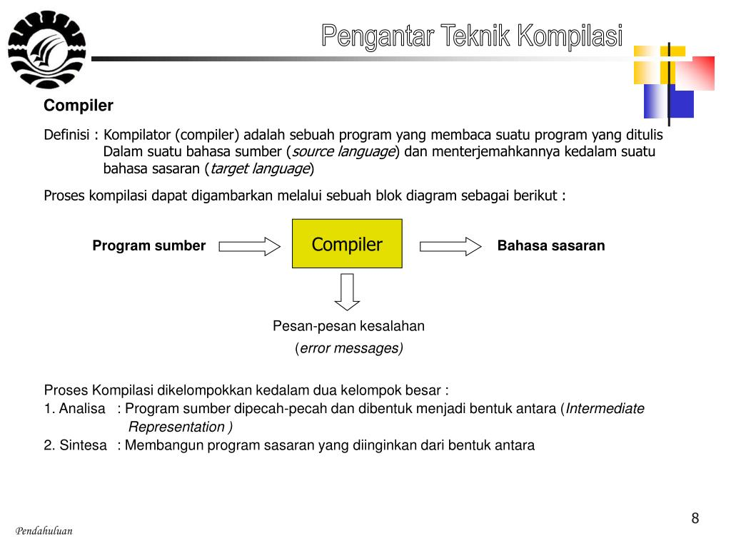 PPT - Teknik Kompilasi PowerPoint Presentation, free download - ID ...