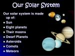 our solar system1