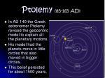 ptolemy 85 165 ad