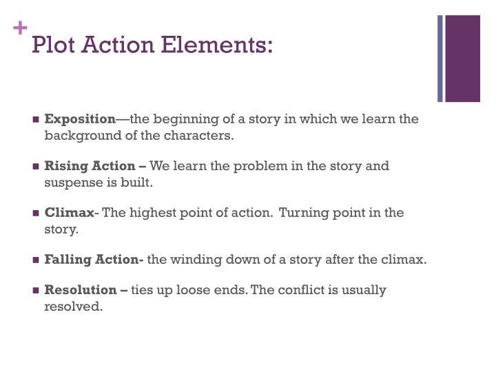 Plot Action Elements: