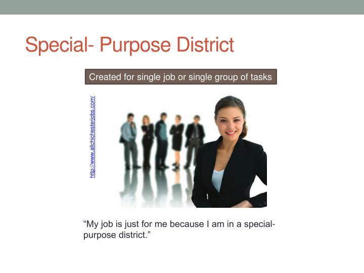 Special- Purpose District