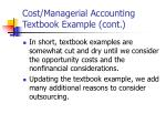 cost managerial accounting textbook example cont2