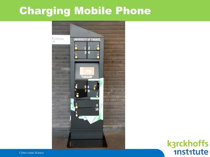 Charging Mobile Phone