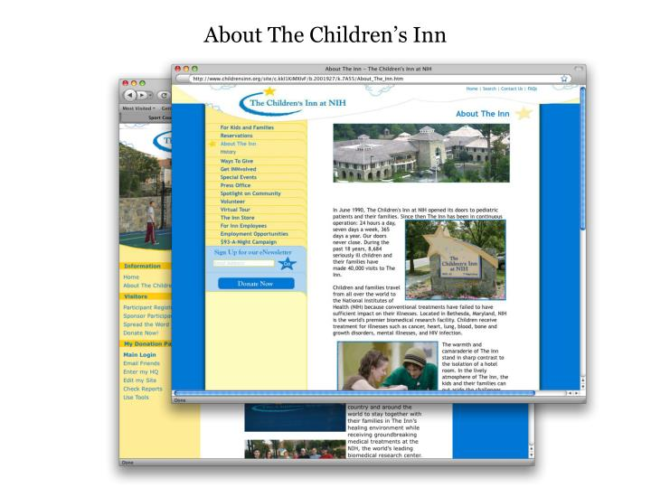 About The Children's Inn