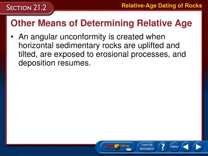 relative dating answers