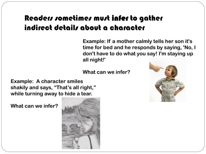Readers sometimes must