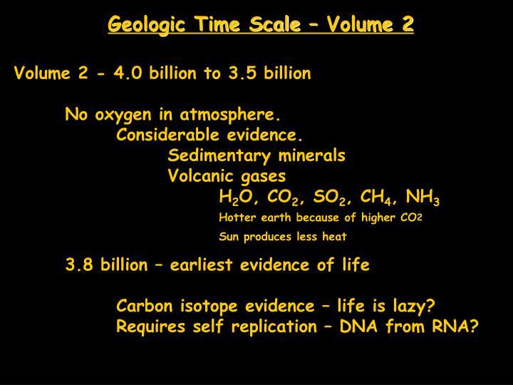 Geologic Time Scale – Volume 2