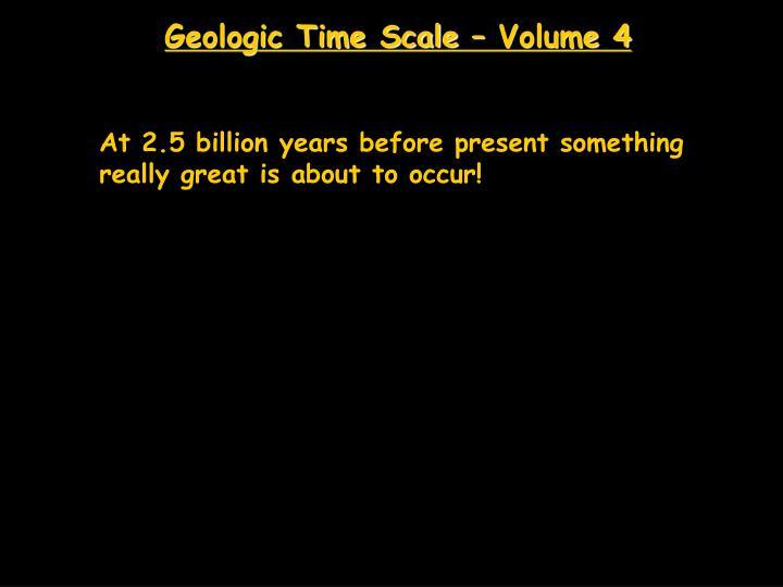 Geologic Time Scale – Volume 4