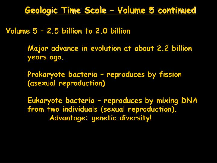 Geologic Time Scale – Volume 5 continued