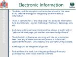 electronic information1