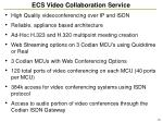 ecs video collaboration service